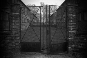 Punishment Yard - Auschwitz I