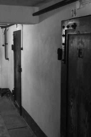 Dark Suffication Cells - Block 11 - Auschwitz I