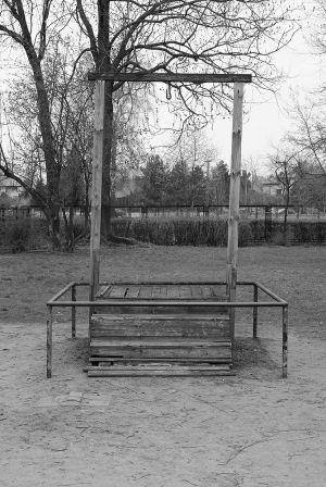 Gallows For Rudolf Höss - Auschwitz I