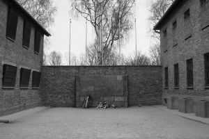 Execution By Bullet Wall - Auschwitz I