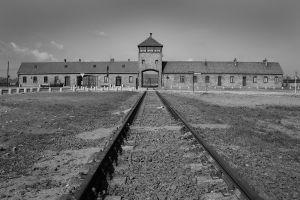Entrance To Hell - Auschwitz II - Birkenau