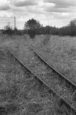 The Judenrampe Tracks End - Auschwitz I %26 II