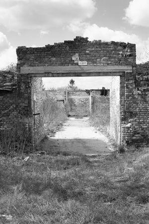 Judenrampe Warehouse Entrance - Auschwitz I %26 II