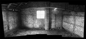 Shadows On The Wall - Auschwitz II - Birkenau